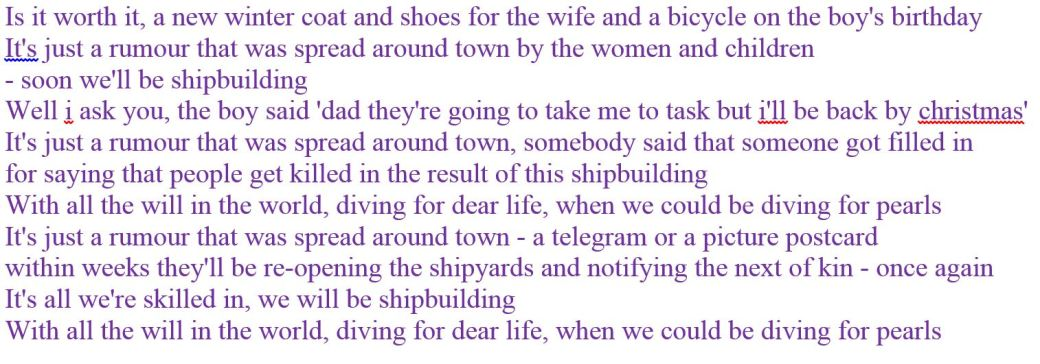 shipbuilding-lyrics