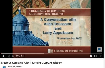 library-of-congress-allen-toussaint-appelbaum